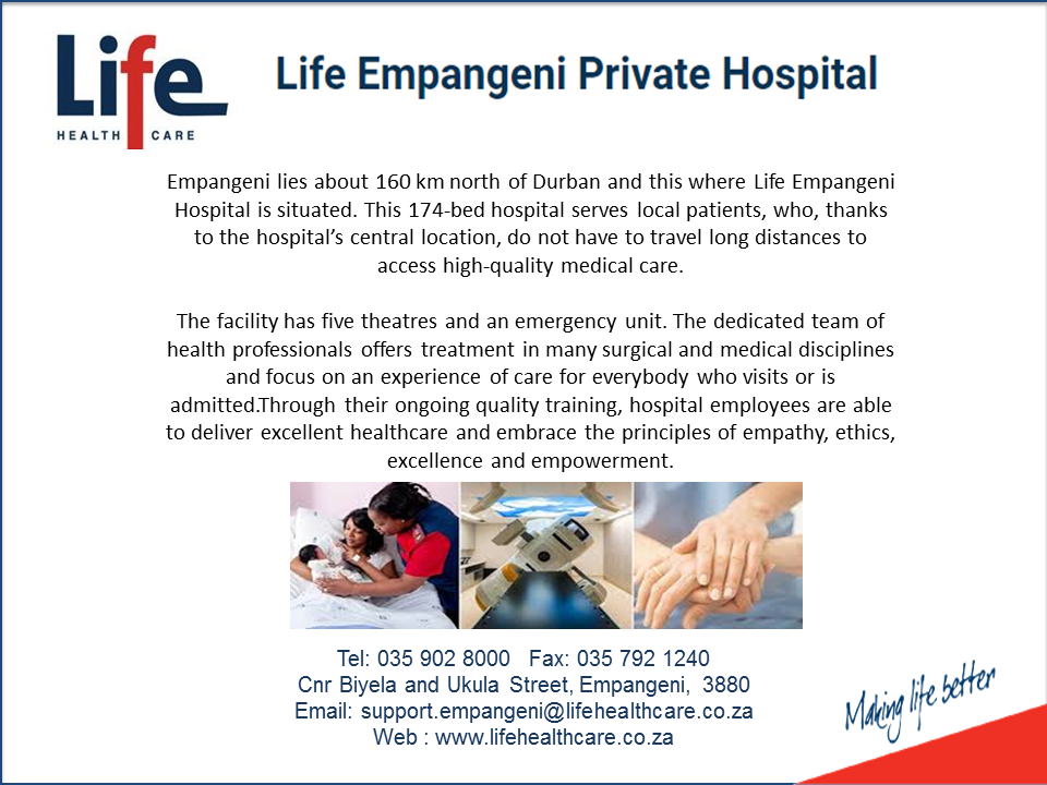Life Empangeni Private Hospital